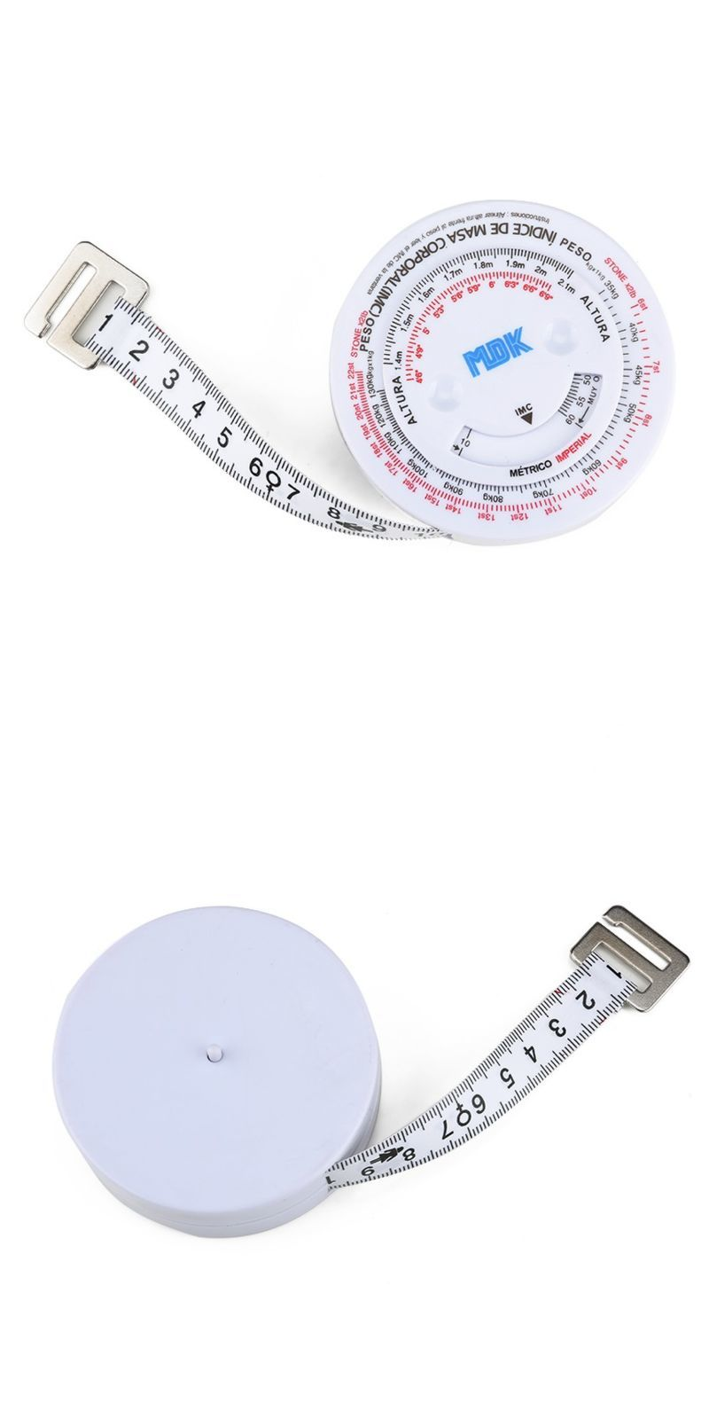 OEM fitness measuring tape body measure body weight measurements