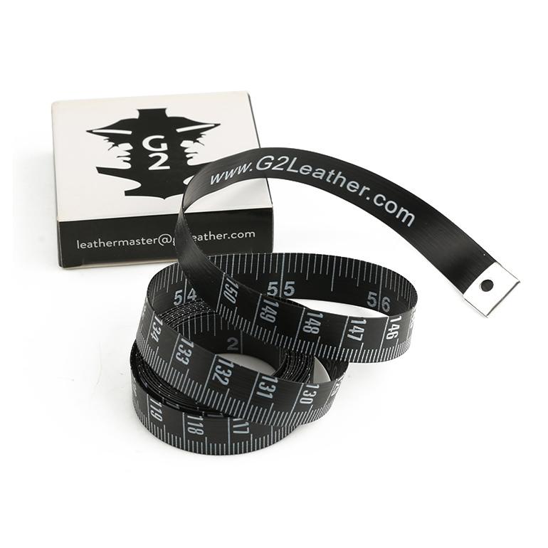 150cm Fashion Garment Black Sewing Measuring Tape with Box