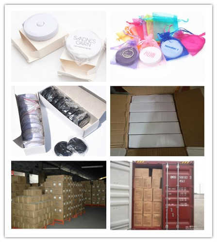 Logo Promotion Gifts Plastic Rtractable Cloth Tape Measure