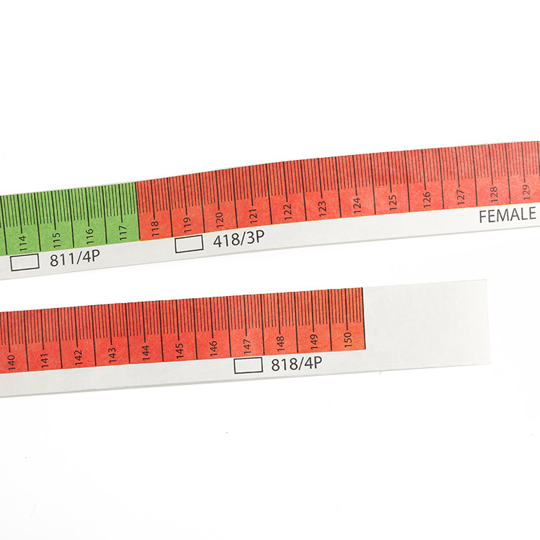 Custom 150cm60inch retractable tape measure medical tape latex free medical tape