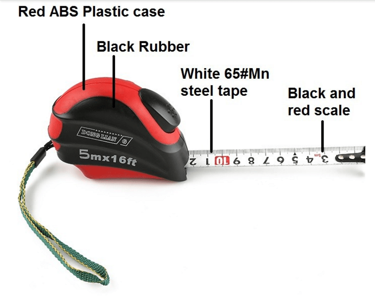 steel scale ruler contractors metric steel tape measure Wintape Brand