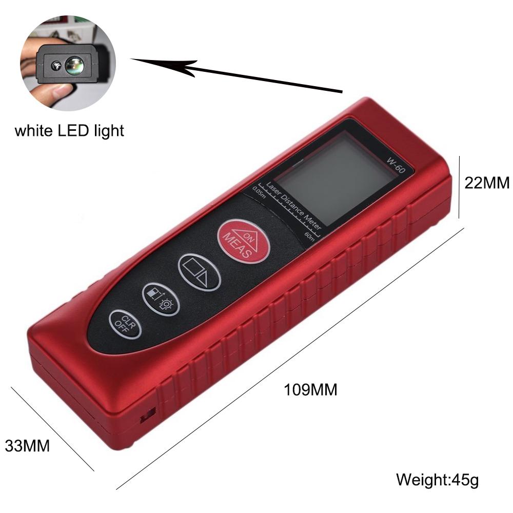 laser tape measure reviews 40m Wintape Brand laser distance measurer