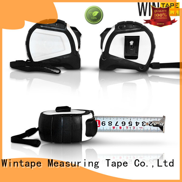 square Custom alloy steel tape measure 5m Wintape