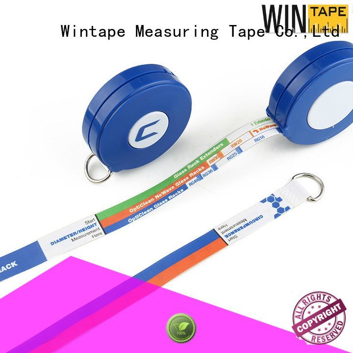OEM retractable tape measure medical printable instrument latex free medical tape