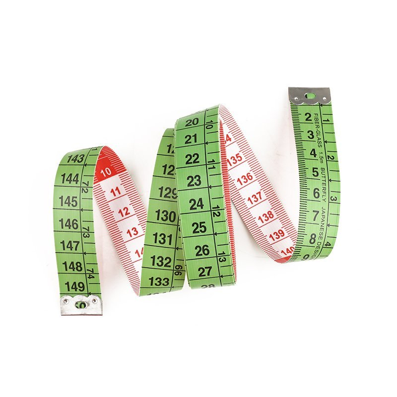 Wintape Brand 1m customized fiberglass tailor measurements