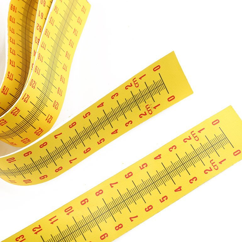 Custom height measuring tape for wall height growth sticker Wintape