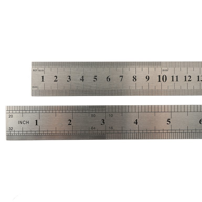 Personalized Stainless Steel Ruler