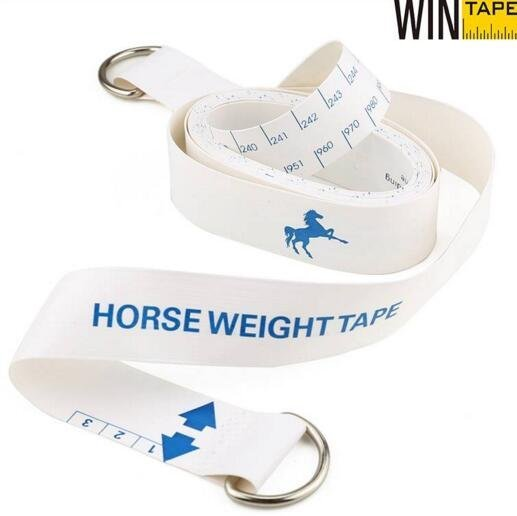 Custom Horse Weight Measuring Tape with LOGO