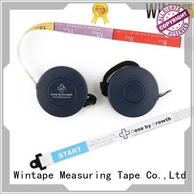 Wintape Brand medical measure latex free medical tape inch