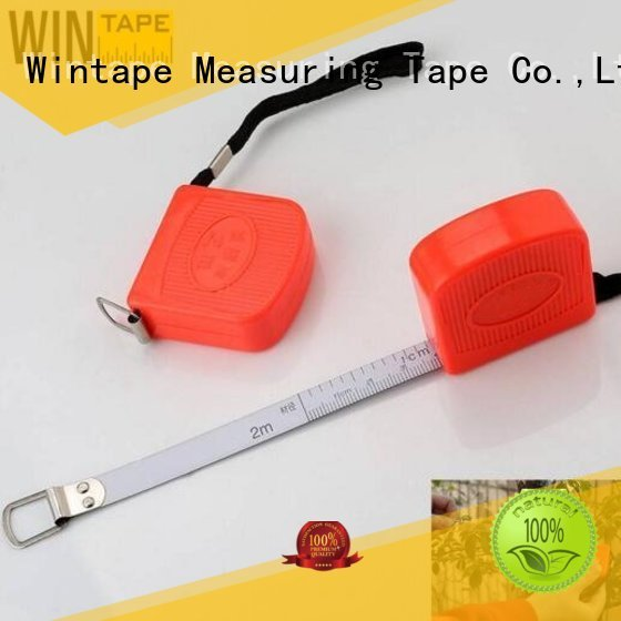 Quality Wintape Brand 2m high accuracy pipe measuring tape