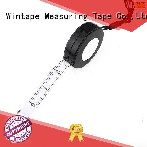 engraved tape measure rope black tape measuring Wintape