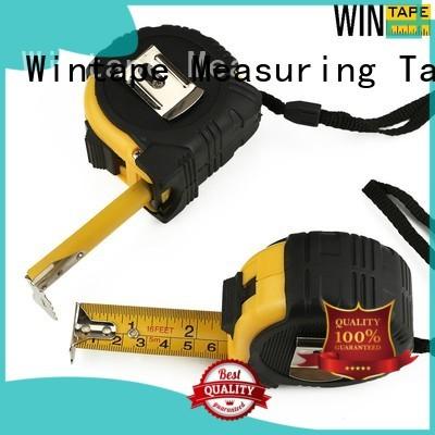 steel scale ruler construction keychain steel tape measure tools Wintape Brand