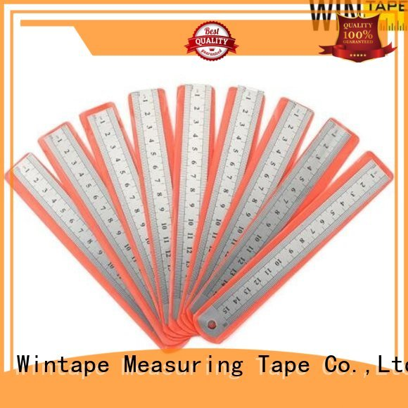 customized 50m steel scale ruler ruler metric Wintape Brand