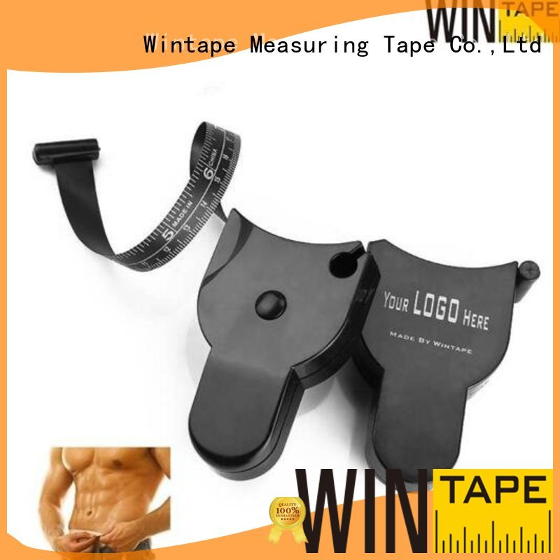 Wholesale colorful fitness measuring tape Wintape Brand