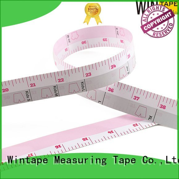 adhesive measuring tape for table saw measure paper tape Wintape Brand