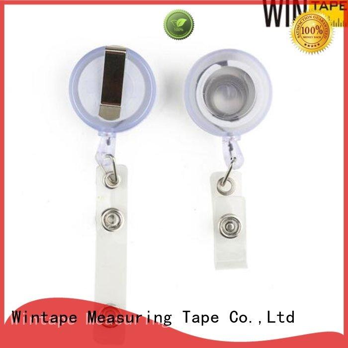 Wintape Brand metal reel badge retractable badge reel