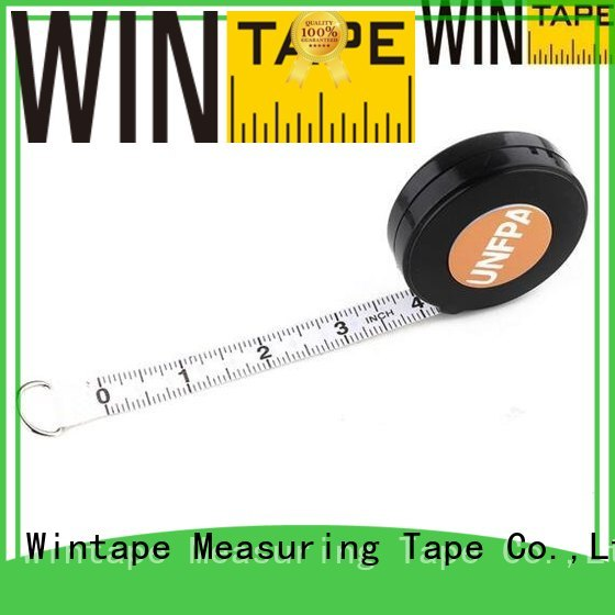 measures brown sewing tape measure logo Wintape Brand company