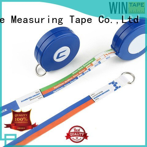 latex free medical tape disposable retractable tape measure medical Wintape Brand