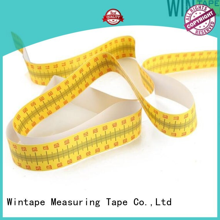 Hot ruler height measuring tape for wall tape 2m Wintape Brand