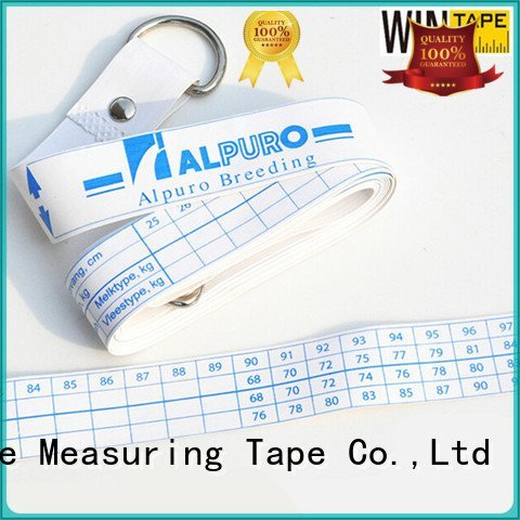 Wintape Brand weight printed logo horse weight measuring tape measuring