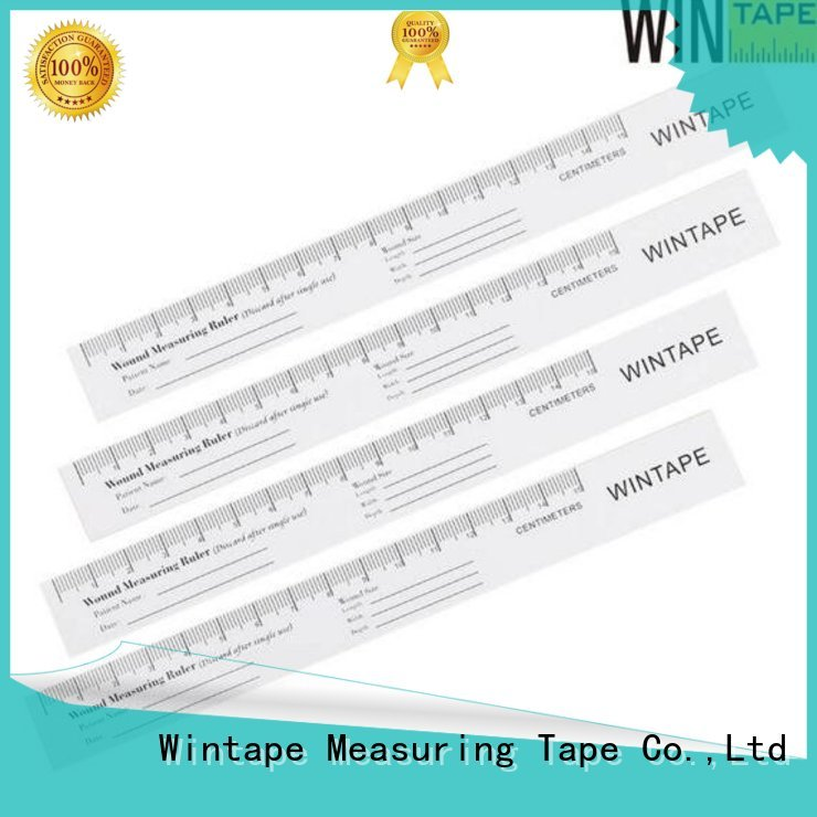 wound assessment tool paper rulers Wintape Brand company