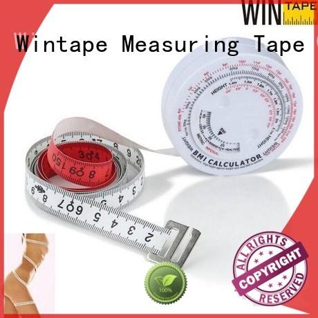 Custom hot sale fitness measuring tape care Wintape