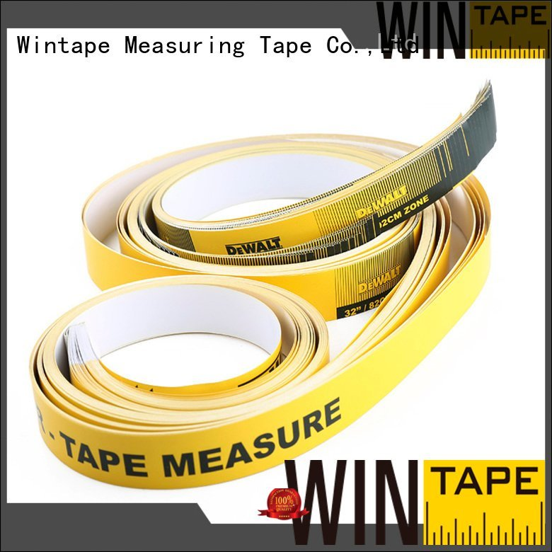 Custom tape paper tape oem adhesive measuring tape for table saw
