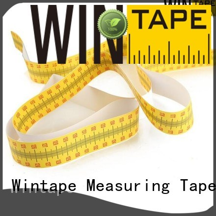 2m paper height measuring tape for wall wall Wintape Brand