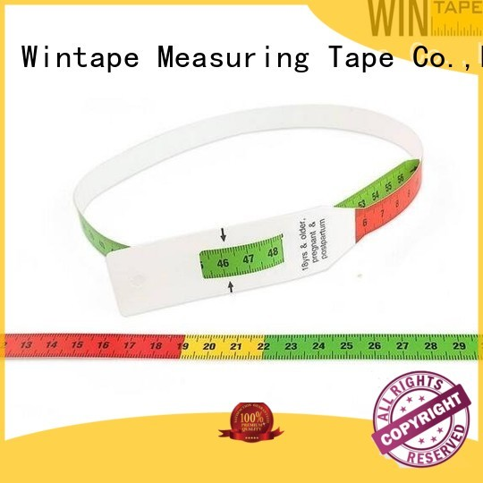 Wholesale measure oem head circumference measuring tape Wintape Brand