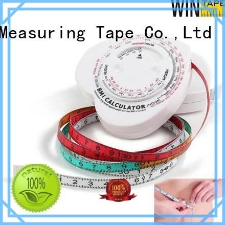 Hot fitness measuring tape metric Wintape Brand