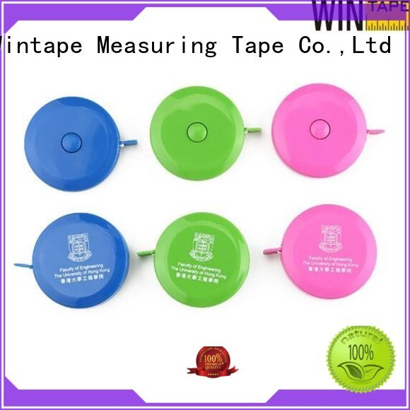 engraved tape measure brown pu Wintape Brand company