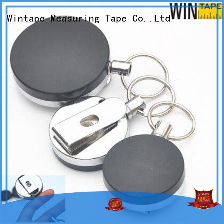 cute card OEM retractable badge reel Wintape