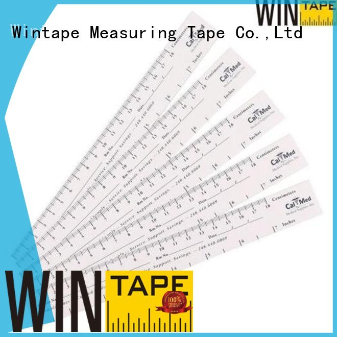 wound Custom paper wound measuring ruler disposable Wintape
