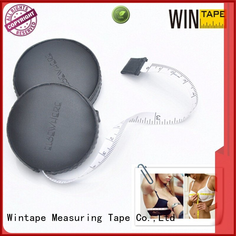 Wintape covered square sewing tape measure mini imperial