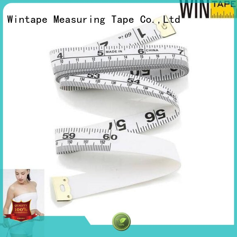 digital tape measure ruler vinyl only Wintape Brand tailor measurements