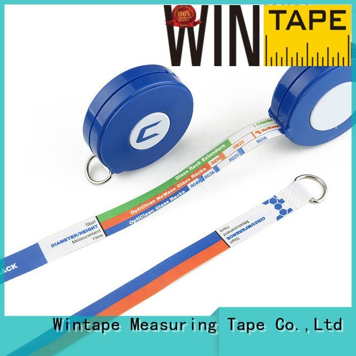 Quality latex free medical tape Wintape Brand paper retractable tape measure medical