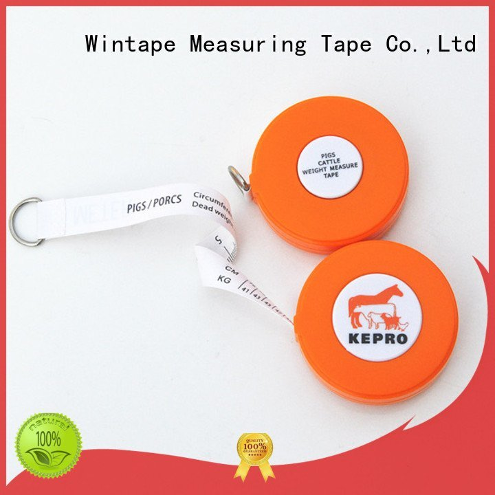 measure weighing tape Wintape pig tape