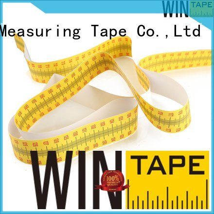 height measuring stick paper wall OEM height measuring tape for wall Wintape
