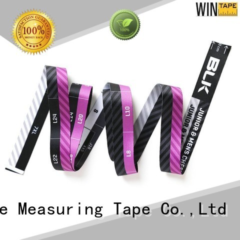 flexible centimeters tailor measurements customized fiberglass Wintape company