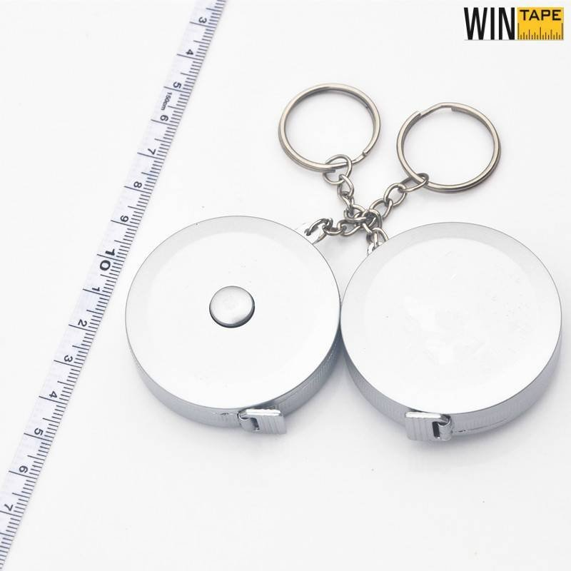 Bling Silver Sewing Measuring Tape