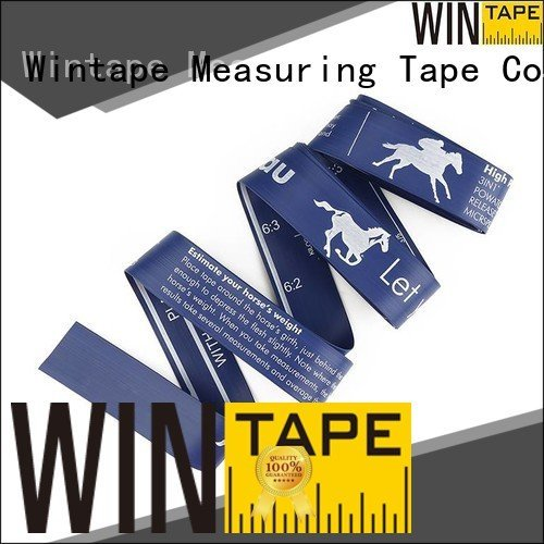 horse height measuring tape printed pony hands logo Wintape
