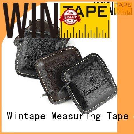 engraved tape measure square pu Wintape Brand