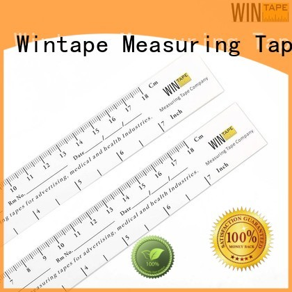 Wintape Brand disposable standard paper wound assessment tool rulers