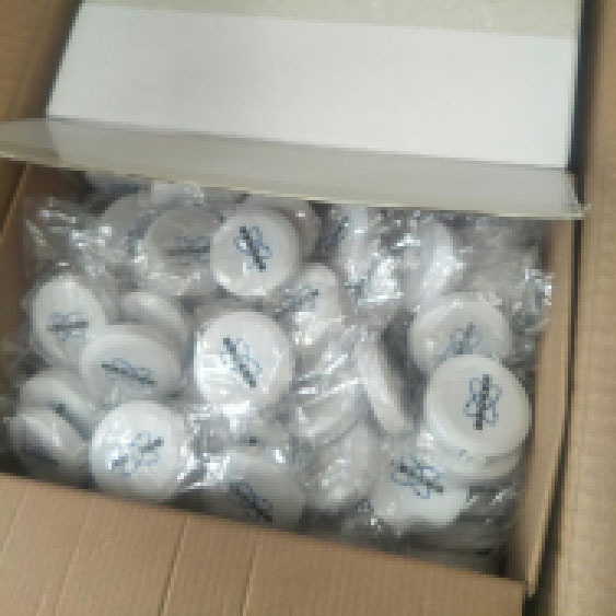 500 pcs Customized White Tape Measure with Two Color Logo Been Sent to France