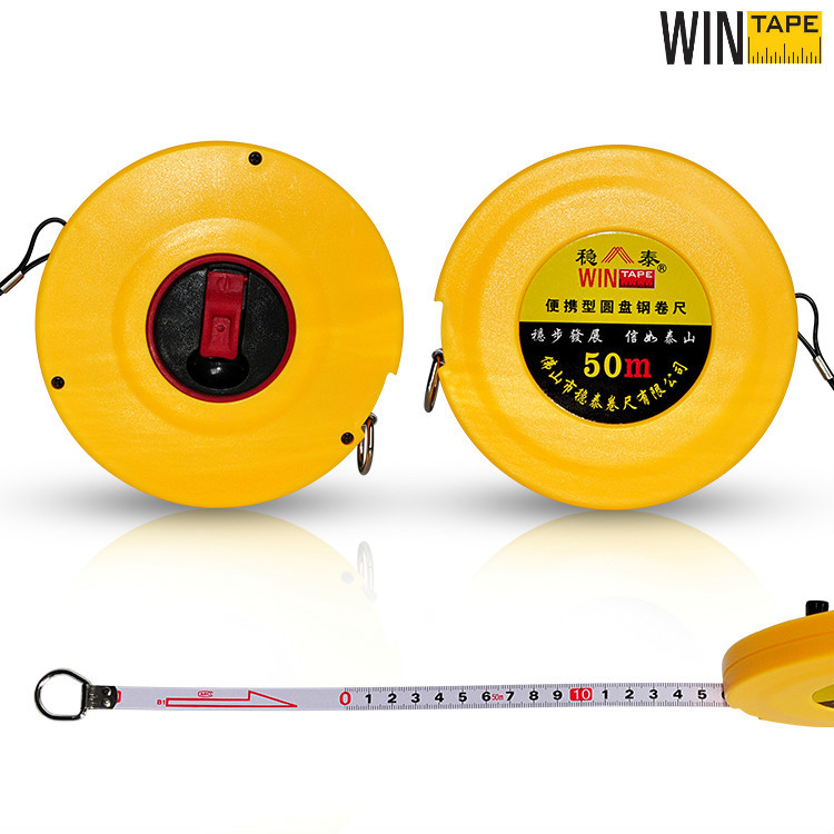 50m Engineer Long Steel Tape Construction Hand Tool